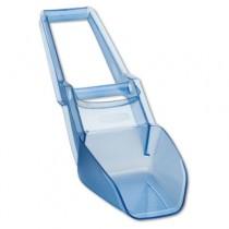 "Scovel Two-Handled Ice-Bin Shovel, 120oz, 29 2/5"" Long, Transparent Blue"