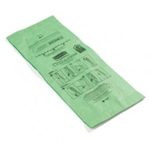 Vacuum Bags, Paper, For Rubbermaid Commercial Traditional Upright Vacuum,10/Pack