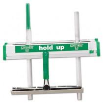 "Hold Up Aluminum Tool Rack, 18"", Aluminum/Green"