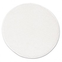 "Rotary Yarn Carpet Bonnets, Carpet, 21"", White"