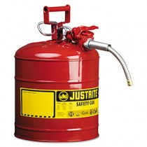 "AccuFlow Safety Can, Type II, 5 Gal, Red, 5/8"" Hose"