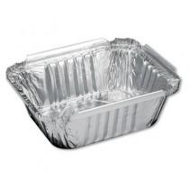 Aluminum Oblong Container, 1 Pound, 5-9/16 x 4-9/16 x 1-5/8