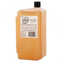 Body & Hair Care, Peach Scent, Clear Amber, 1 Liter Cartridge