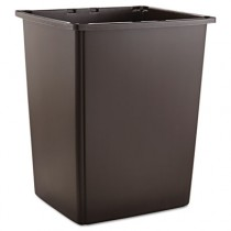 Glutton Container, Rectangular, 56 gal, Brown