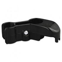 Lobby Pro Upright Plastic Dustpan Hanger Bracket, 1-1/4w x 1-1/4h x 4l, Black