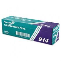 """PVC Film Roll w/Cutter Box, 18"""" x 2000 ft, Clear"""