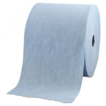 WYPALL X60 Wipers, Jumbo Roll, 12 1/2 x 13 2/5, Blue, 1100/Roll