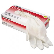 Disposable Latex Gloves, Cornstarch Powdered, General Purpose, Large, 100/Box