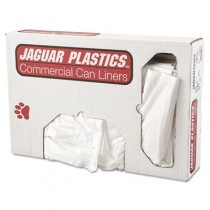 Low-Density Can Liner, 33 x 39, 33-Gallon, .70 Mil, White, 150/Case