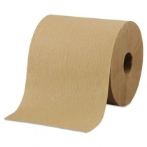 "Hardwound Roll Towels, 8"" x 800ft, Brown"