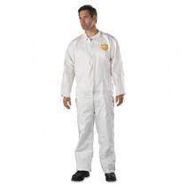 ProShield NexGen Coveralls, HD Polyethylene, White, Size 2X-Large