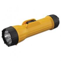 Industrial Heavy Duty Flashlight, Yellow/Black