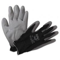 HyFlex Lite Gloves, Black/Gray, Size 10