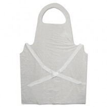 Disposable Apron, Polypropylene, White