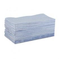 WYPALL X70 Foodservice Towels, Quarterfold, 12 1/2 x 23 1/2, Blue, 300/Box