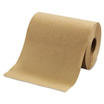 "Hardwound Roll Towels, 8"" x 350ft, Brown"