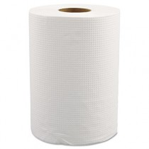 "Hardwound Roll Towels, 8"" x 350ft, White"
