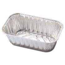 Aluminum Baking Pan, #1 Loaf, 5 23/32 x 3 5/16 x 2 1/32