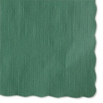 Solid Color Placemats, 9 3/4 x 14, Hunter Green