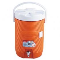 Water Cooler, 12 1/2dia x 16 3/4h, Orange