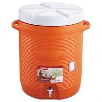 """Insulated Beverage Container, 16"""" dia. x 20 1/2h, Orange"""