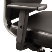 Optional T-Pad Arms for Sol Task Chair, Black, 2/Pair