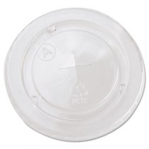 Cold Cup Straw-Slot Lids, Fits 20oz Cups, Clear