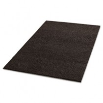 Spaghetti Vinyl-Loop Floor Mat, Vinyl, 36 x 60, Brown