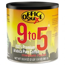 9 to 5 Coffee, 100% Pure Arabica, Original Blend, 33.9 oz Can