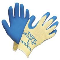 Tuff-Coat II? Gloves, Blue/White, Large