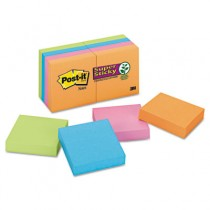 Pads in Electric Glow Colors, Ninety 2 x 2 Sheets, 8 Pads/Pack