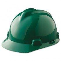 V-Gard Hard Hats, Fas-Trac Ratchet Suspension, Green