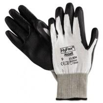 HyFlex Dyneema Cut-Protection Gloves, Gray, Size 9