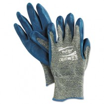 HyFlex 501 Medium-Duty Gloves, Size 11, Kevlar/Nitrile, Blue/Green