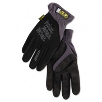 FastFit Work Gloves, Black, Extra-Large