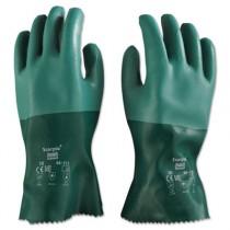 Scorpio Neoprene Gloves, Green, Size 10
