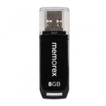 Mini TravelDrive USB Flash Drive, 8GB