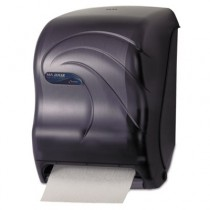 Electronic Touchless Roll Towel Dispenser, 11 3/4 x 9 x 15 1/2, Black