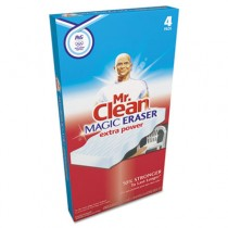 """Magic Eraser Extra Power, 3 1/2 x 5, 1"""" Thick, White"""