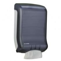 Classic Large Ultrafold Towel Dispenser, 11 3/4 x 6 1/4 x 18, Black Pearl