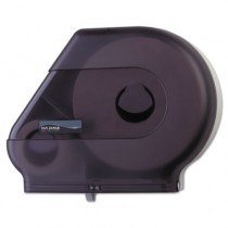 Quantum Dispenser w/Stub Roll Compartment, 22 x 5 7/8 x 16 1/2, Black