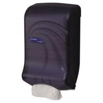 Oceans Ultrafold Towel Dispenser, Trans Black, 11-3/4w x 6-1/4d x 18h
