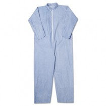 KLEENGUARD A65 Flame-Resistant Coveralls, Blue, 3XL
