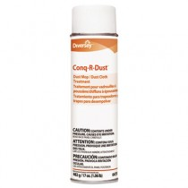 Conq-r-Dust Dust Mop/Dust Cloth Treatment, Amine Scent, 17oz Aerosol