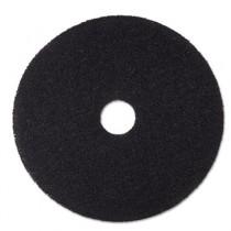 """Stripper Floor Pad 7200, 19"""", Black"""