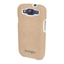 Vesto Textured Leather Case, for Samsung Galaxy S3, Coffee