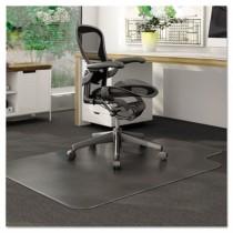 DuraMat Chair Mat for Low Pile Carpet, 36w x 48h, Clear