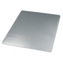 Cleated Chair Mat for Medium Pile Carpet, 46w x 60l, Clear