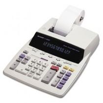 EL2630PIII Two-Color Printing Calculator, 12-Digit Fluorescent, Black/Red