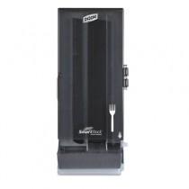 """SmartStock Utensil Dispenser, Fork, 10""""X 8.75"""" X 24.5"""", Gray"""